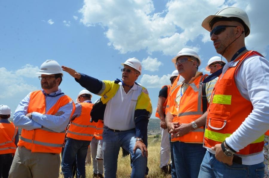 ԱՄՆ դեսպան Ռիչարդ Միլսի և AMCHAM-ի Խորհրդի այցը Ամուլսար ծրագրի և ContourGlobal հիդրոկասկադի տարածք